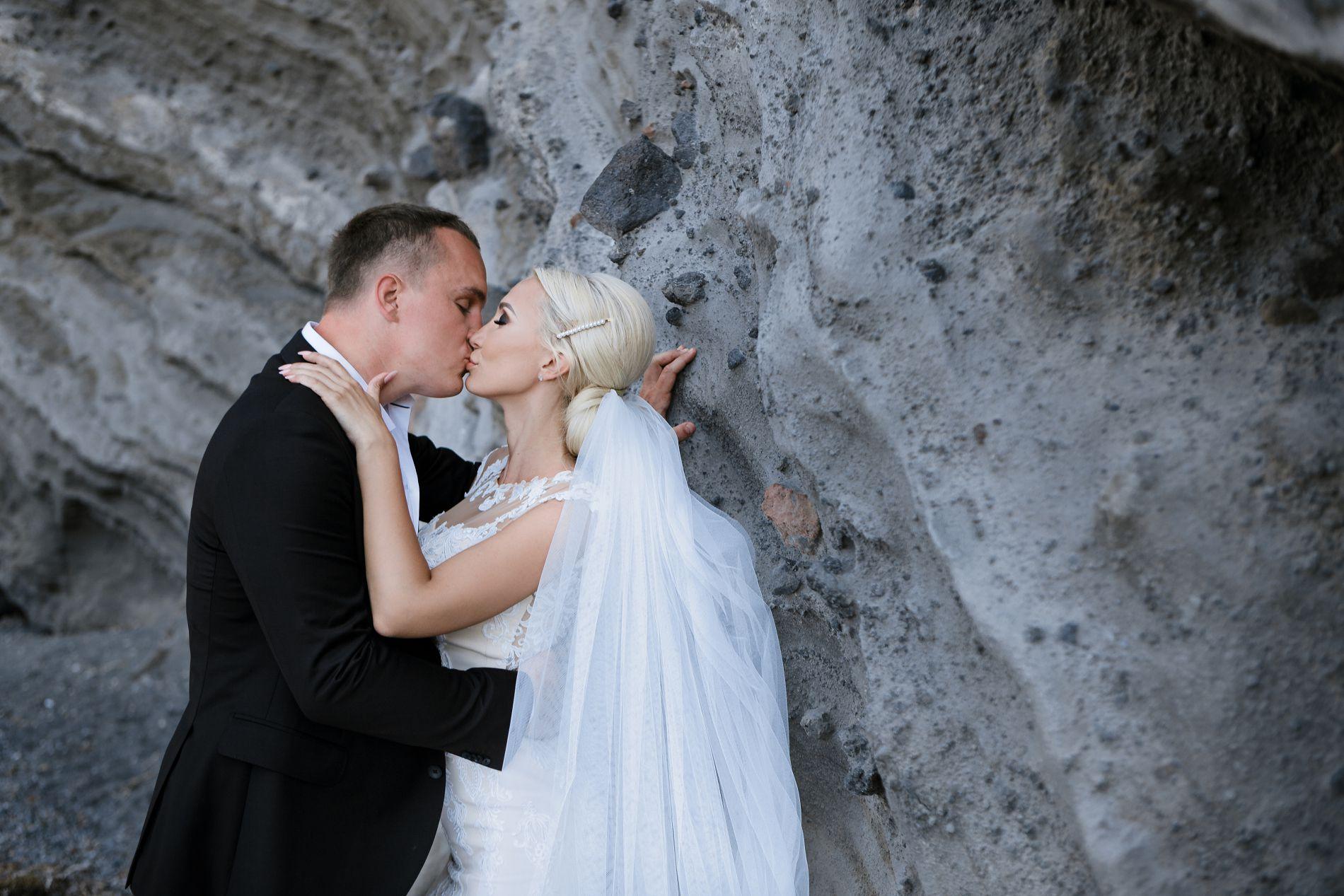 Антон и Ольга: свадьба на санторини, свадебное агентство Julia Veselova - Фото 12
