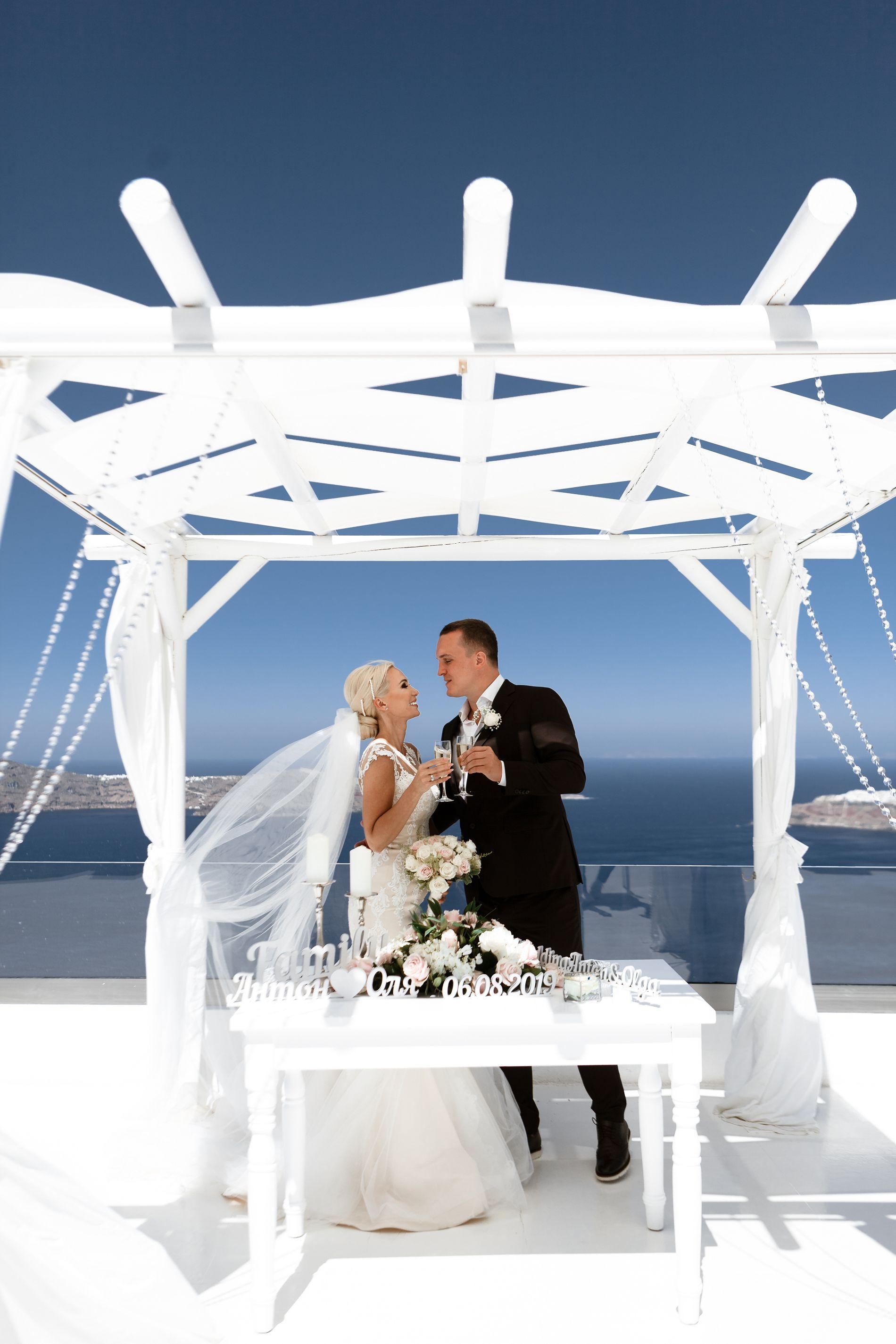 Антон и Ольга: свадьба на санторини, свадебное агентство Julia Veselova - Фото 2