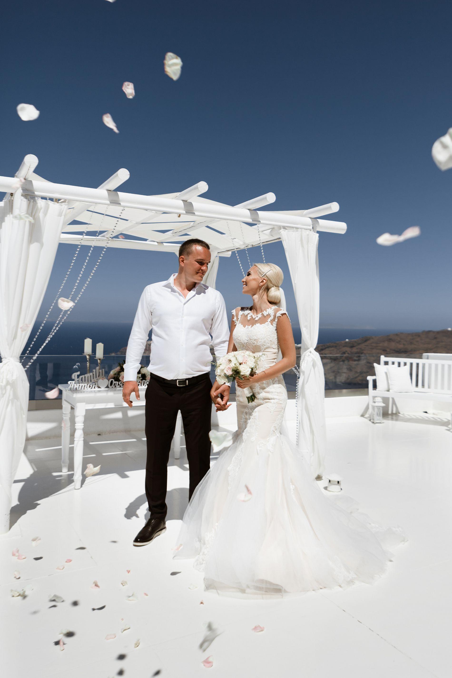 Антон и Ольга: свадьба на санторини, свадебное агентство Julia Veselova - Фото 4