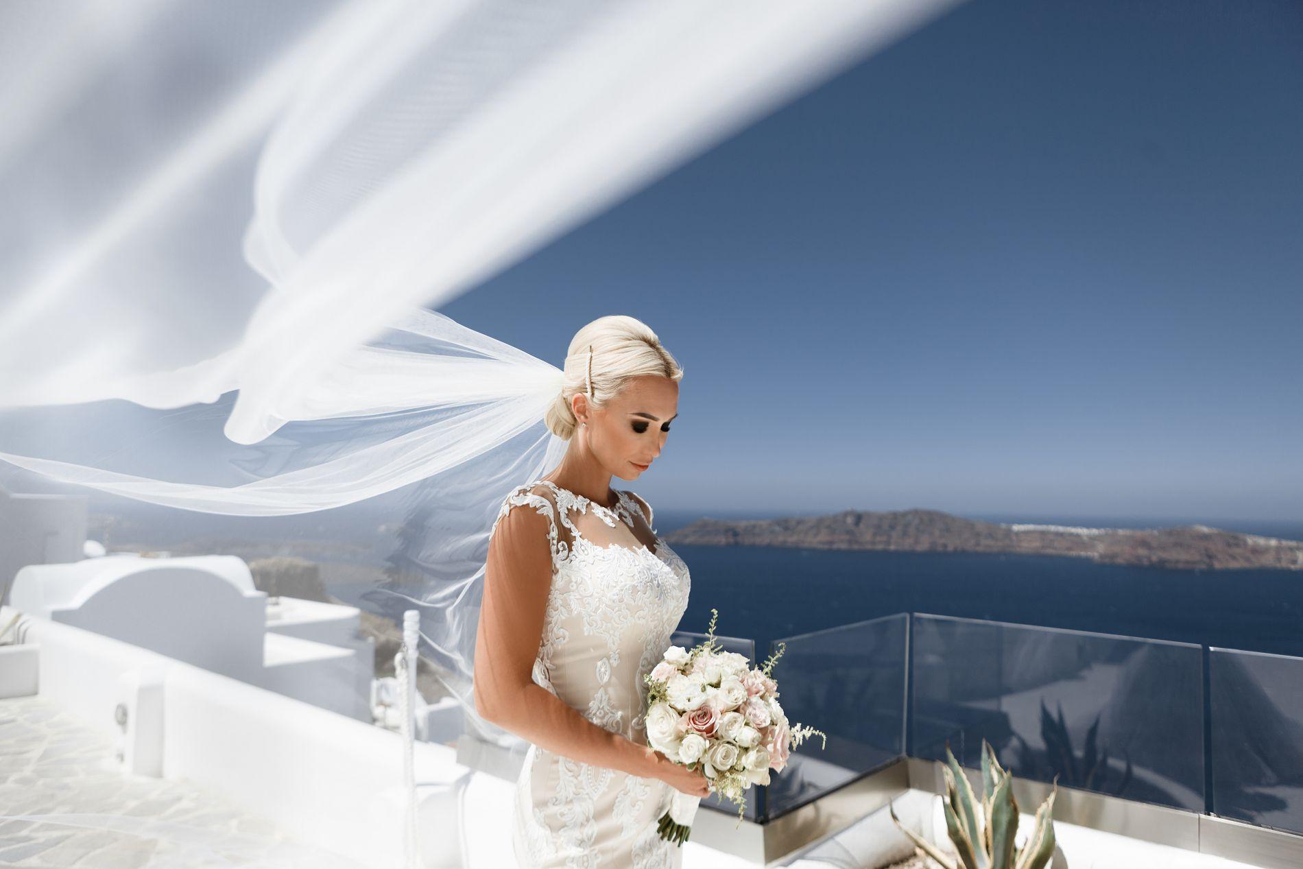 Антон и Ольга: свадьба на санторини, свадебное агентство Julia Veselova - Фото 5