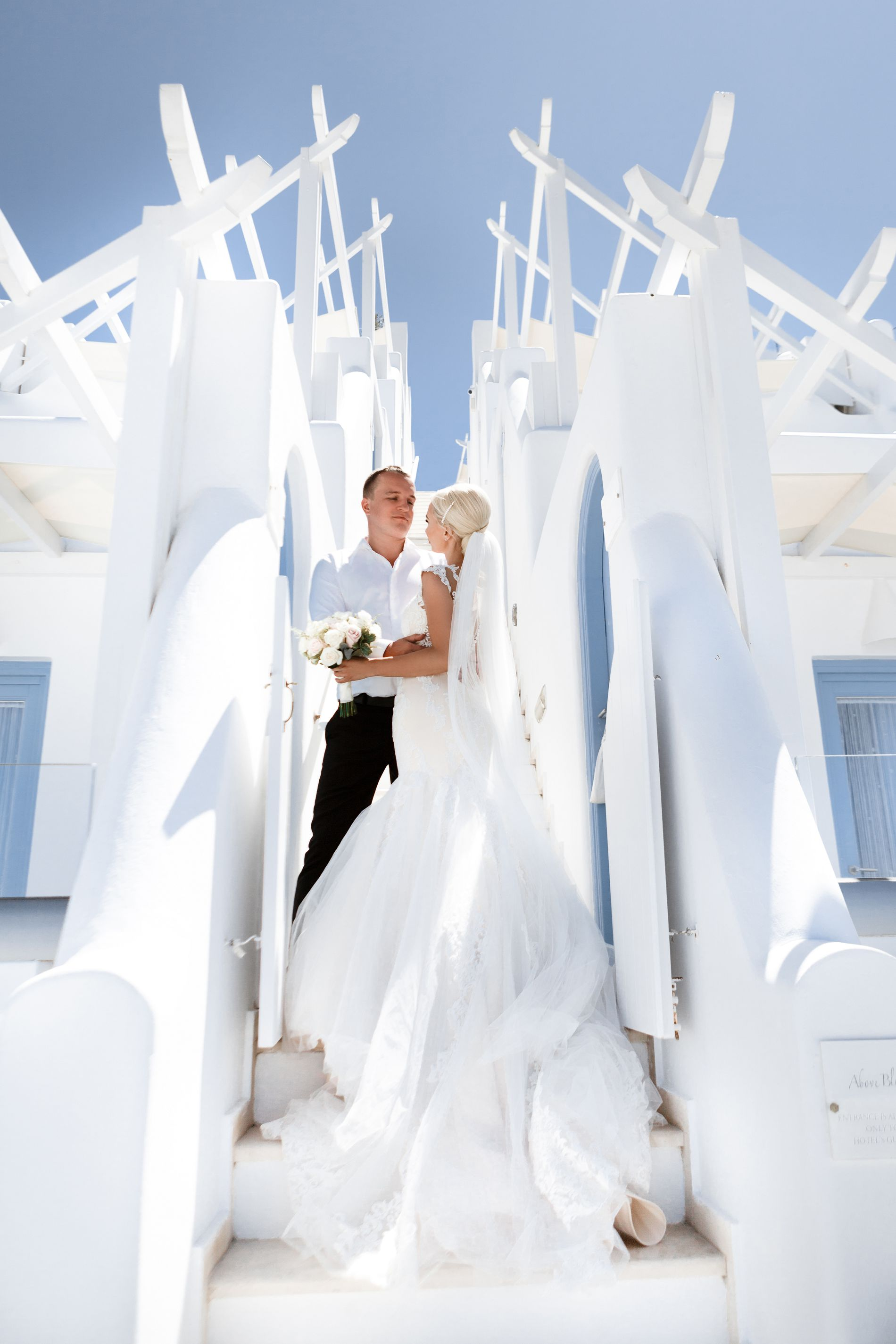 Антон и Ольга: свадьба на санторини, свадебное агентство Julia Veselova - Фото 6