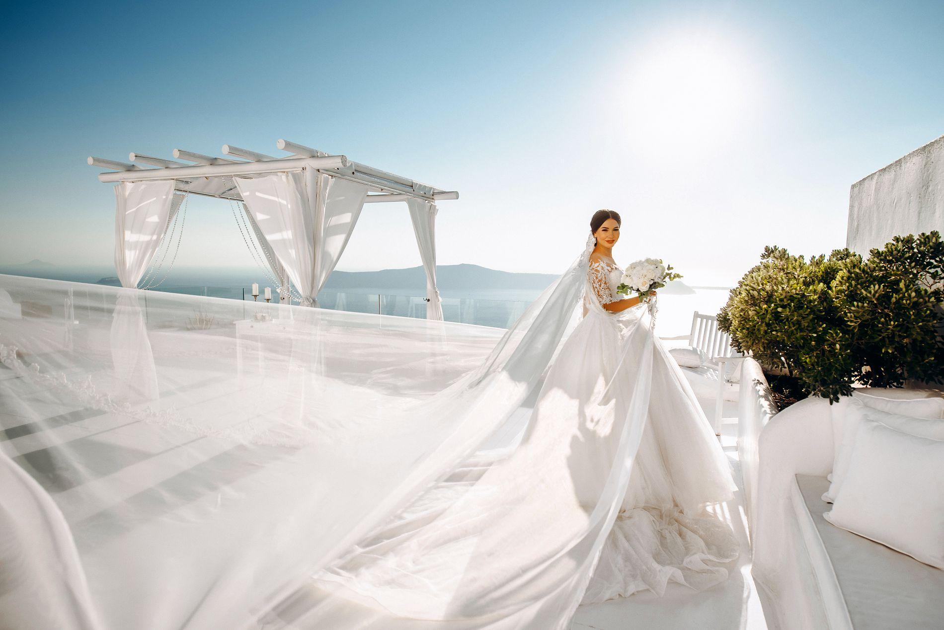 Ангелина и Азис: свадьба на санторини, свадебное агентство Julia Veselova - Фото 10