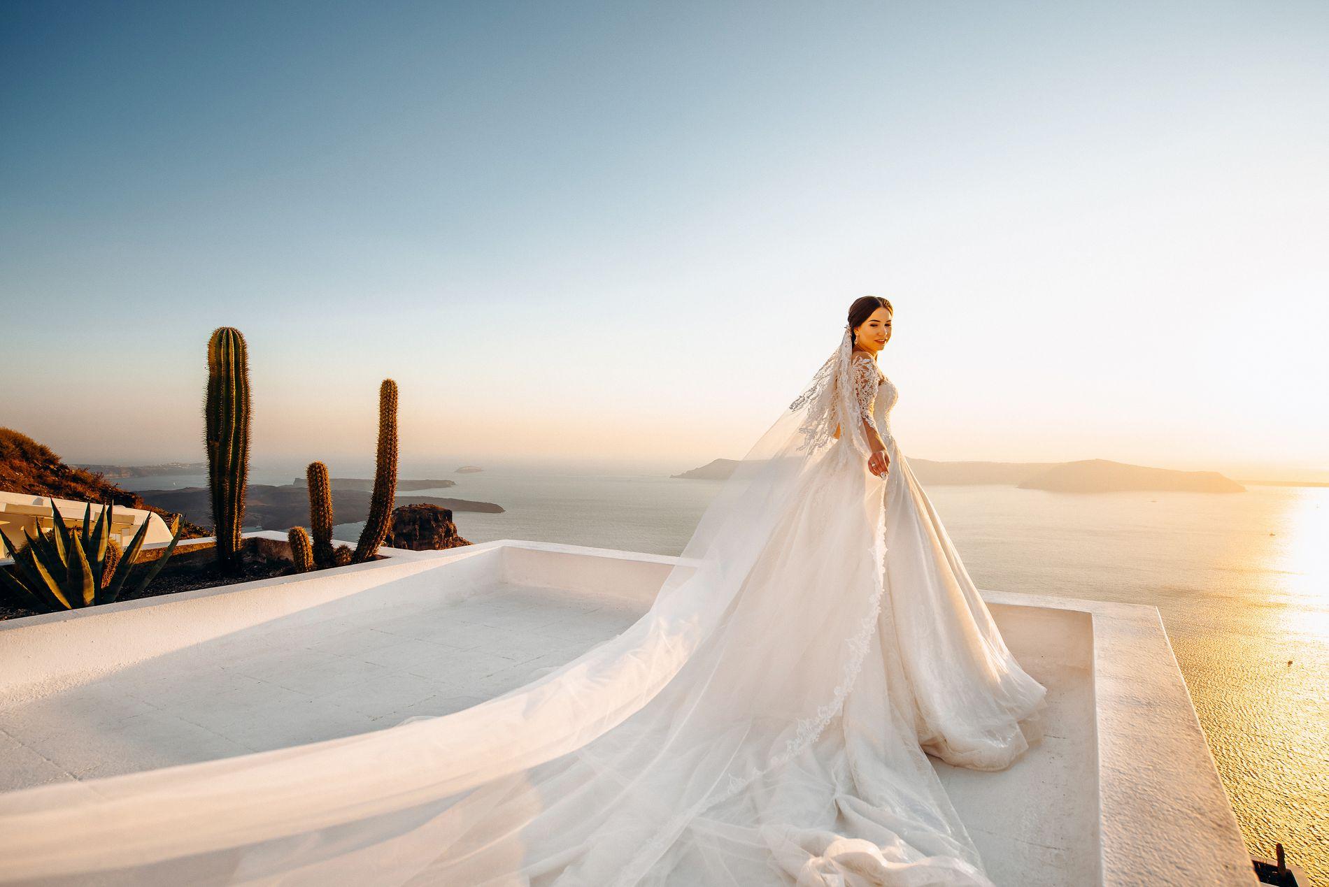 Ангелина и Азис: свадьба на санторини, свадебное агентство Julia Veselova - Фото 2