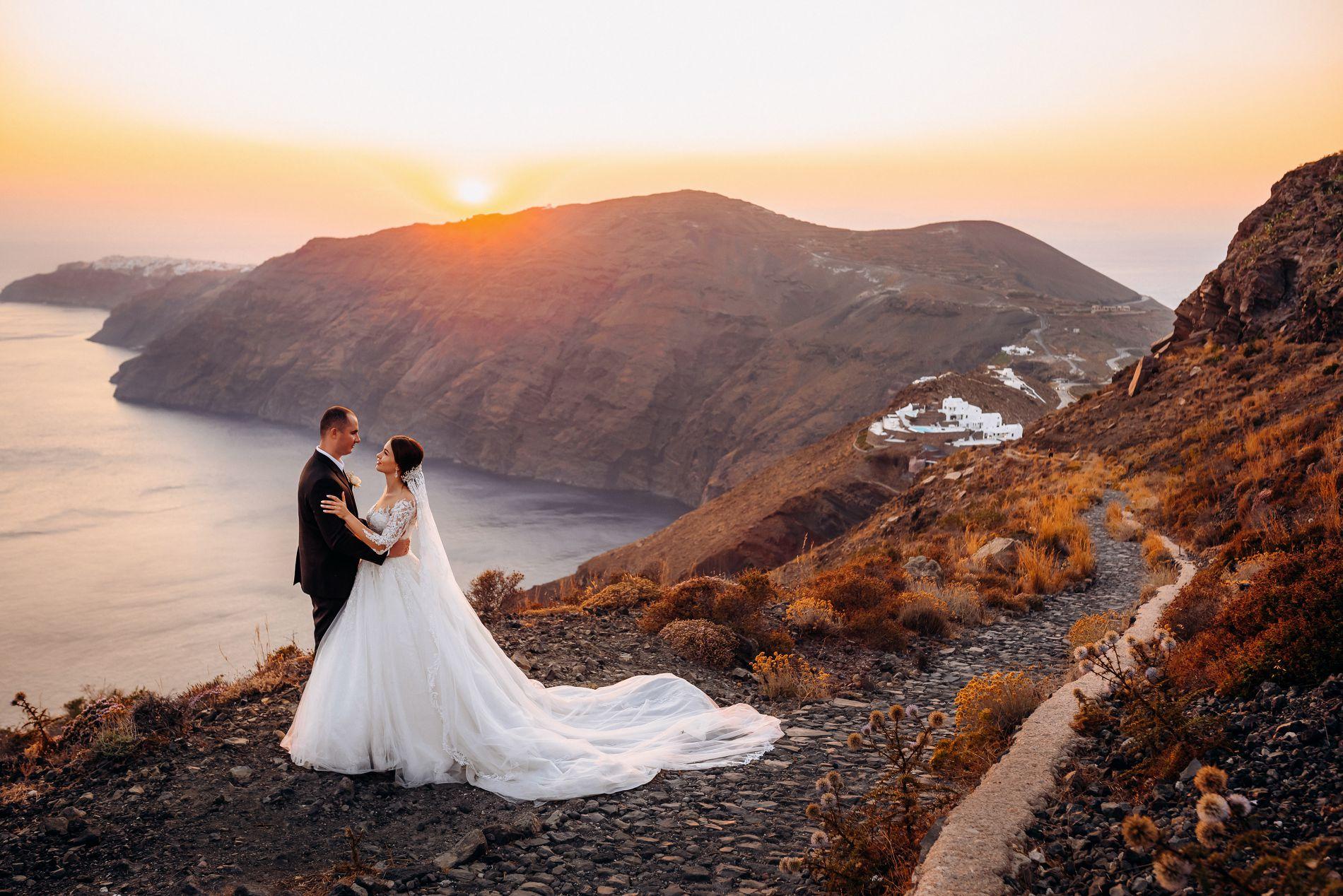 Ангелина и Азис: свадьба на санторини, свадебное агентство Julia Veselova - Фото 3