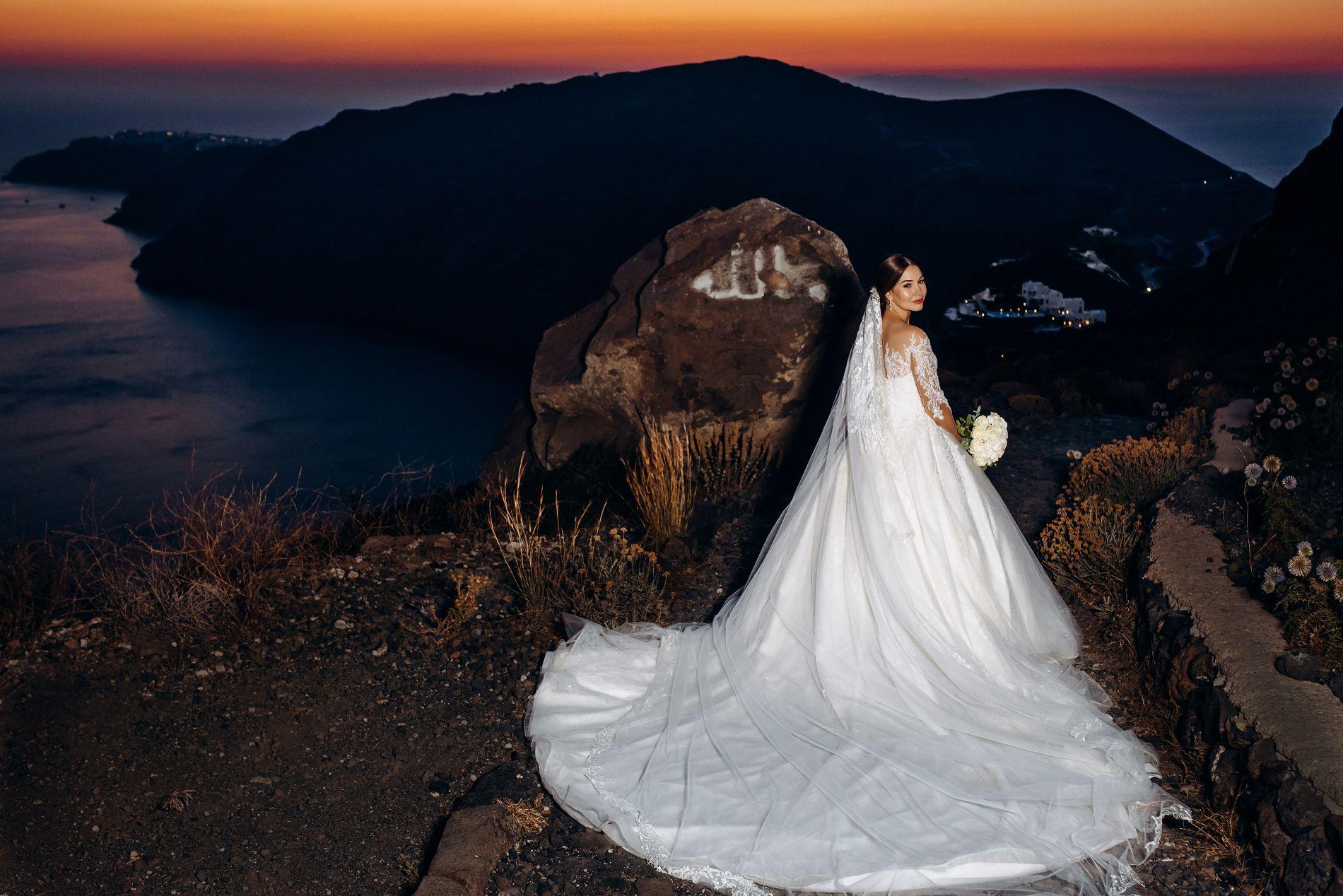 Ангелина и Азис: свадьба на санторини, свадебное агентство Julia Veselova - Фото 4
