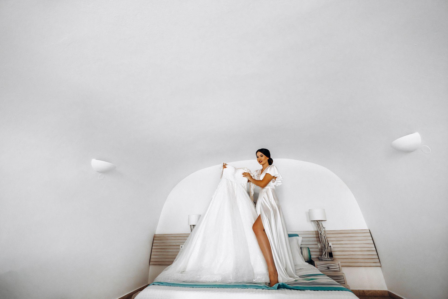 Ангелина и Азис: свадьба на санторини, свадебное агентство Julia Veselova - Фото 5
