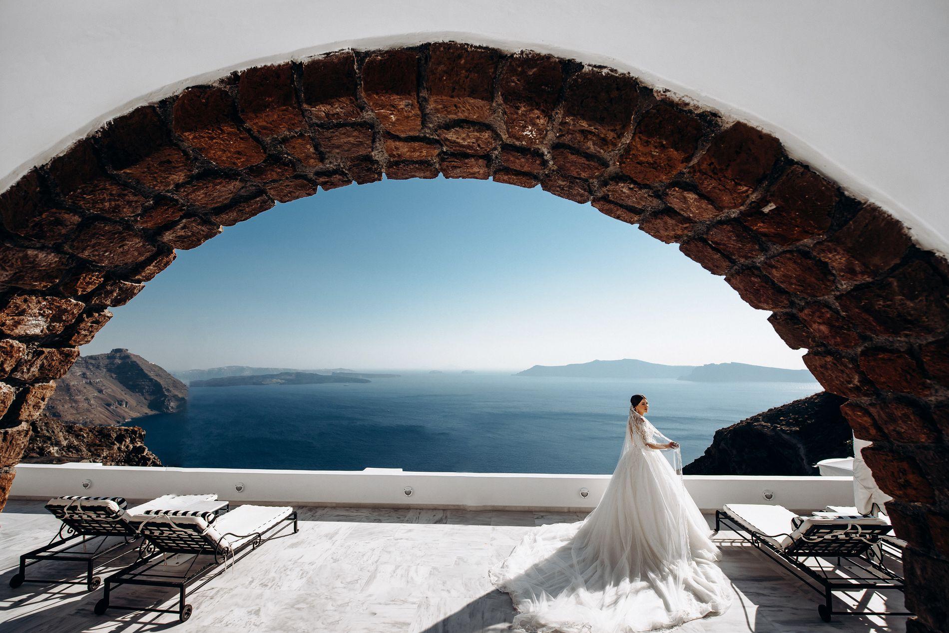 Ангелина и Азис: свадьба на санторини, свадебное агентство Julia Veselova - Фото 7