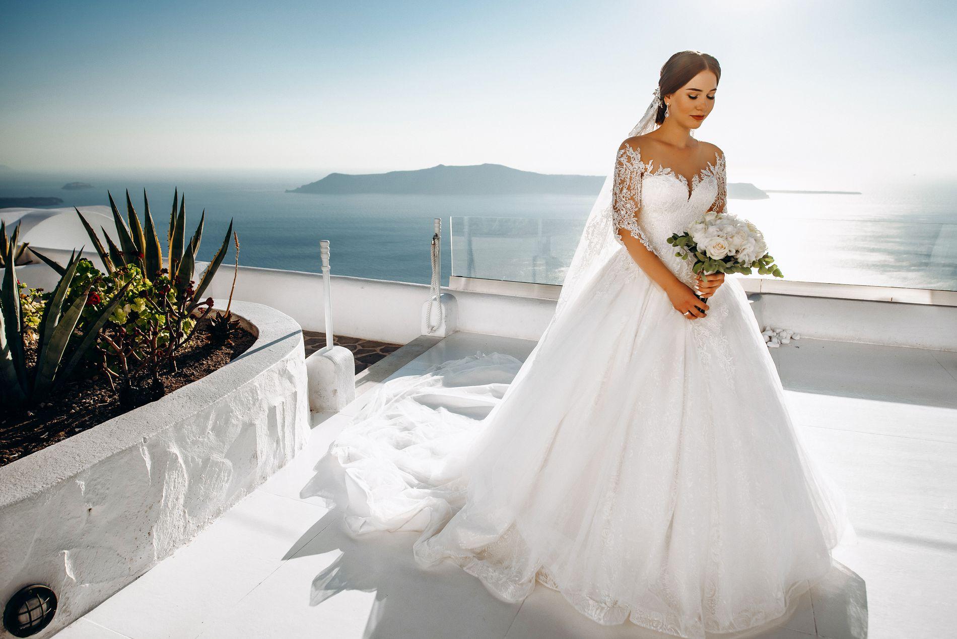 Ангелина и Азис: свадьба на санторини, свадебное агентство Julia Veselova - Фото 8