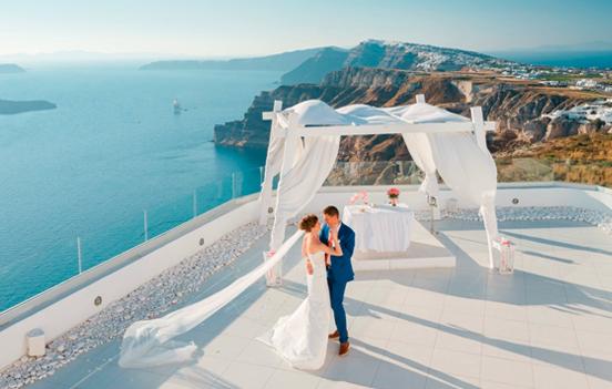 Wedding in Greece - decoration