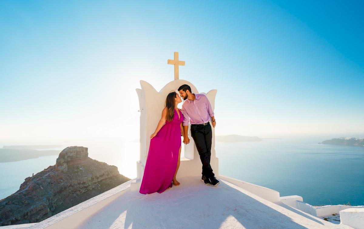 Levy Shady: свадьба на санторини, свадебное агентство Julia Veselova - Фото 2