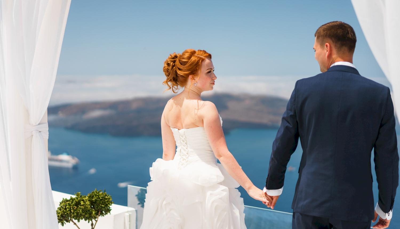 Наталья и Александр: свадьба на санторини, свадебное агентство Julia Veselova - Фото 10