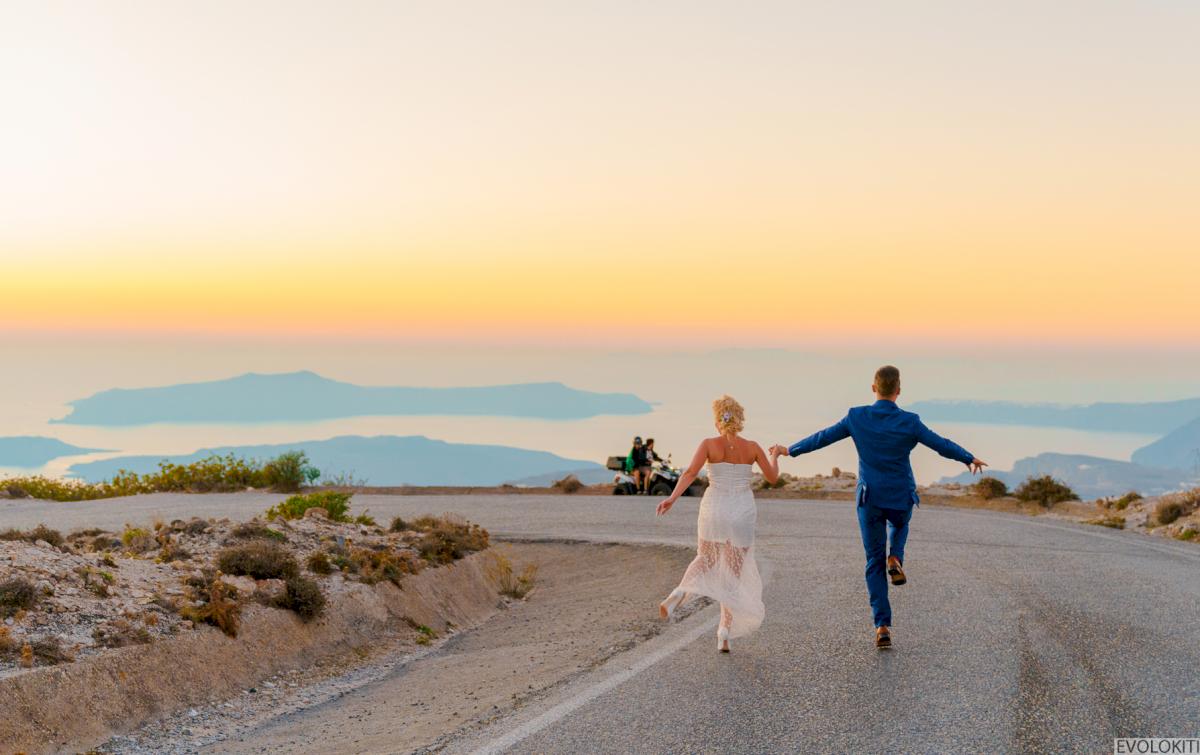 Екатерина и Андрей: свадьба на санторини, свадебное агентство Julia Veselova - Фото 7