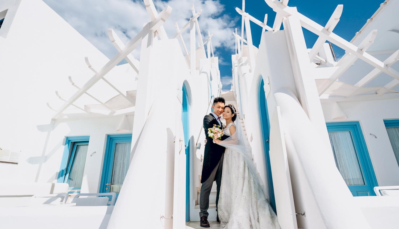Sugar and Joe: свадьба на санторини, свадебное агентство Julia Veselova - Фото 3