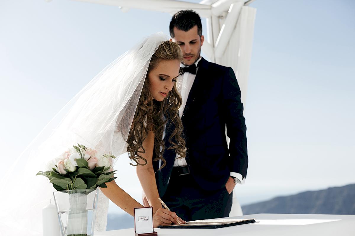 Жанна и Адриан: свадьба на санторини, свадебное агентство Julia Veselova - Фото 7