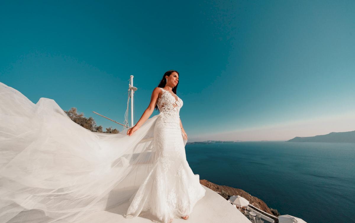Яна и Рафаэль: свадьба на санторини, свадебное агентство Julia Veselova - Фото 8