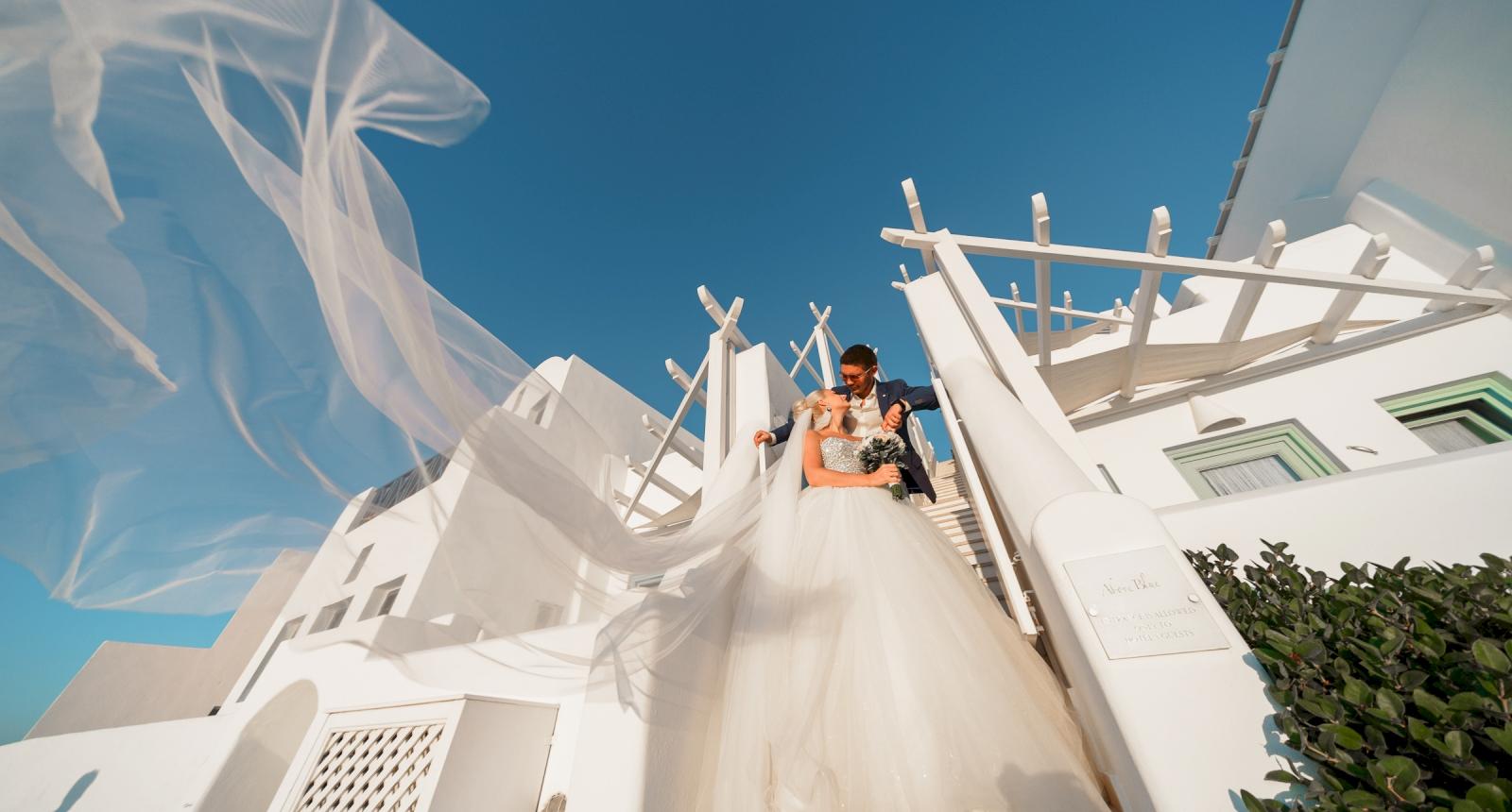 Екатерина и Дмитрий: свадьба на санторини, свадебное агентство Julia Veselova - Фото 6