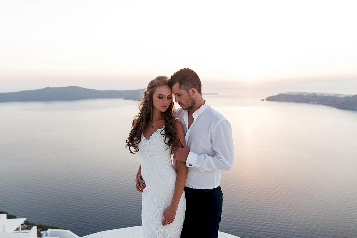 Жанна и Адриан: свадьба на санторини, свадебное агентство Julia Veselova - Фото 16