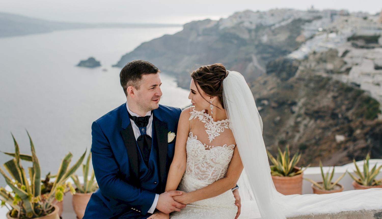 Юлия и Максим: свадьба на санторини, свадебное агентство Julia Veselova - Фото 14