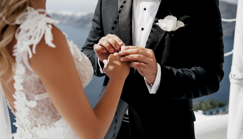 Натали и Левон: свадьба на санторини, свадебное агентство Julia Veselova - Фото 12
