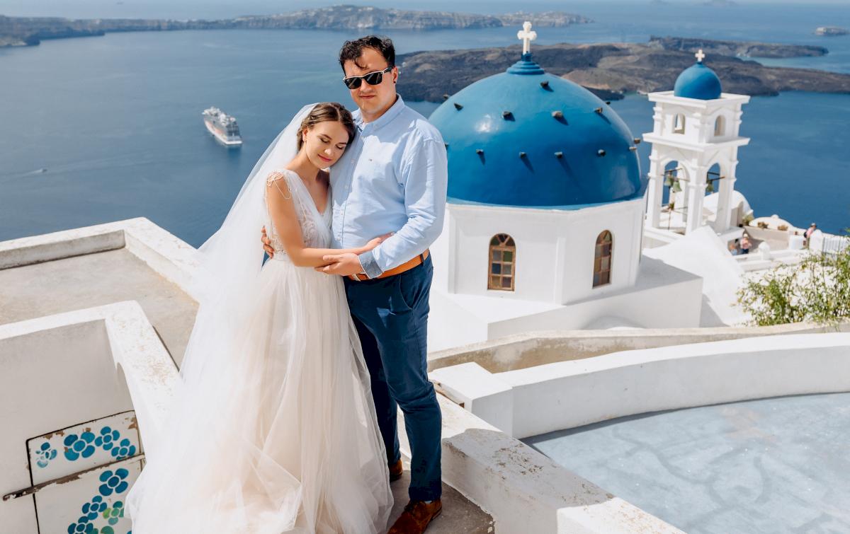 Анна и Андрей: свадьба на санторини, свадебное агентство Julia Veselova - Фото 4