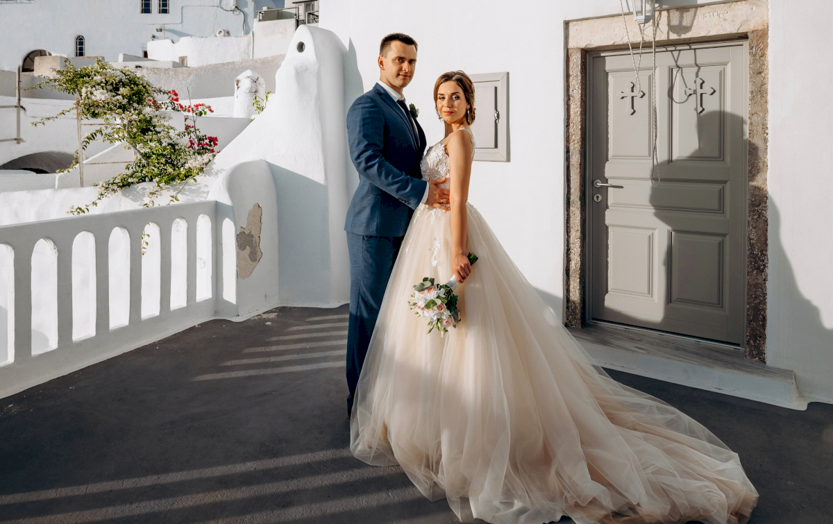 Юлия и Ярослав: свадьба на санторини, свадебное агентство Julia Veselova - Фото 5