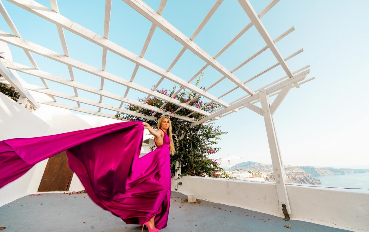 Елена и Виталик: свадьба на санторини, свадебное агентство Julia Veselova - Фото 2