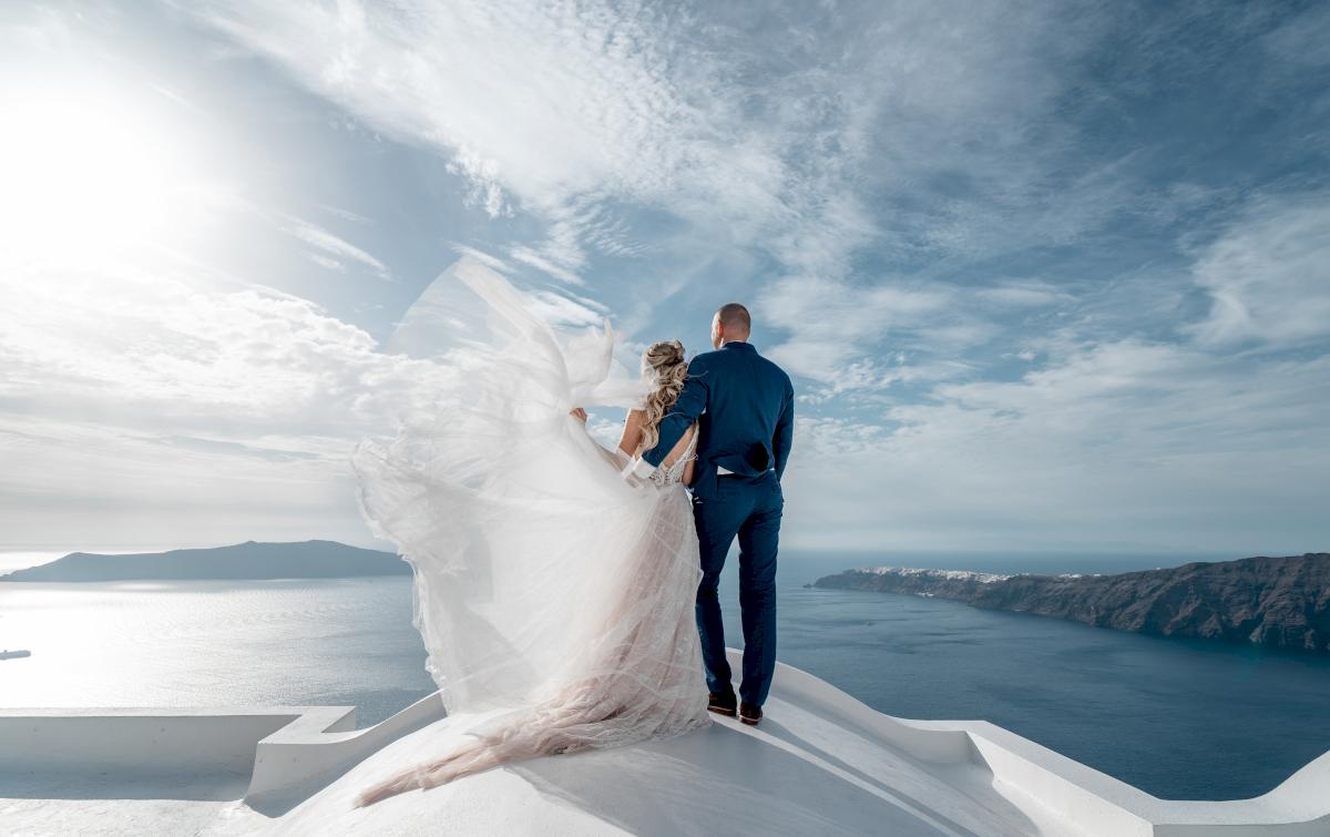 Екатерина и Артем: свадьба на санторини, свадебное агентство Julia Veselova - Фото 6