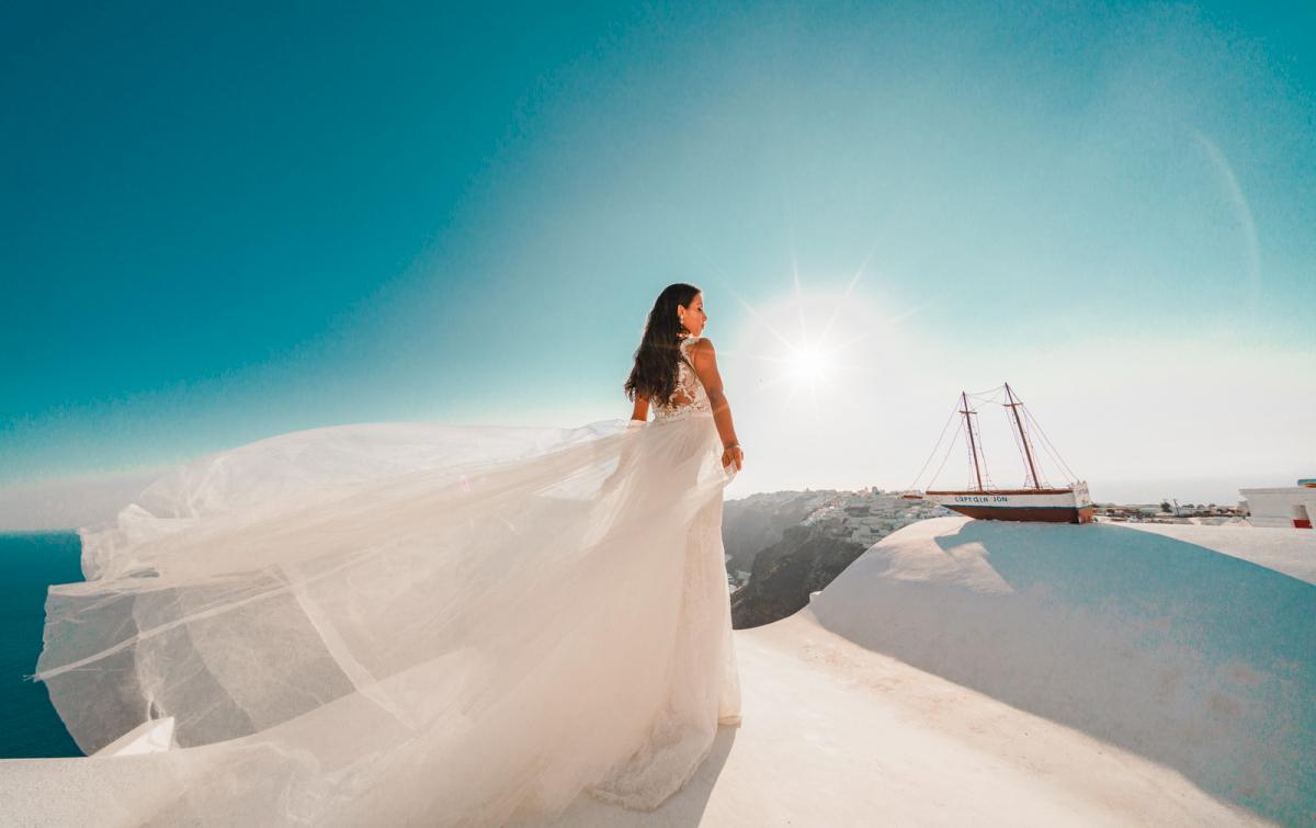 Яна и Рафаэль: свадьба на санторини, свадебное агентство Julia Veselova - Фото 7
