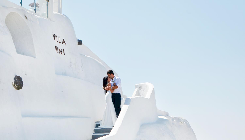 Зарина и Ованес: свадьба на санторини, свадебное агентство Julia Veselova - Фото 10