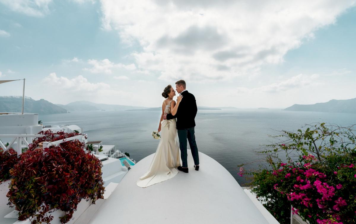 Любовь и Антон: свадьба на санторини, свадебное агентство Julia Veselova - Фото 6