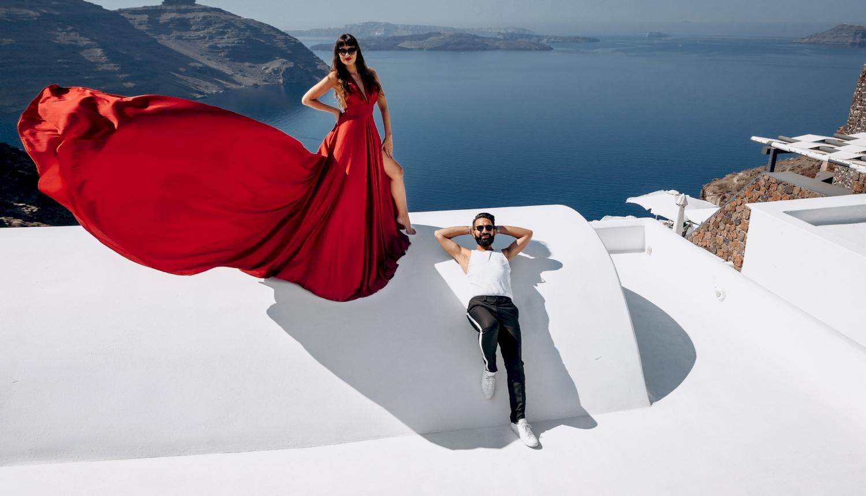Joanna and James: свадьба на санторини, свадебное агентство Julia Veselova - Фото 1