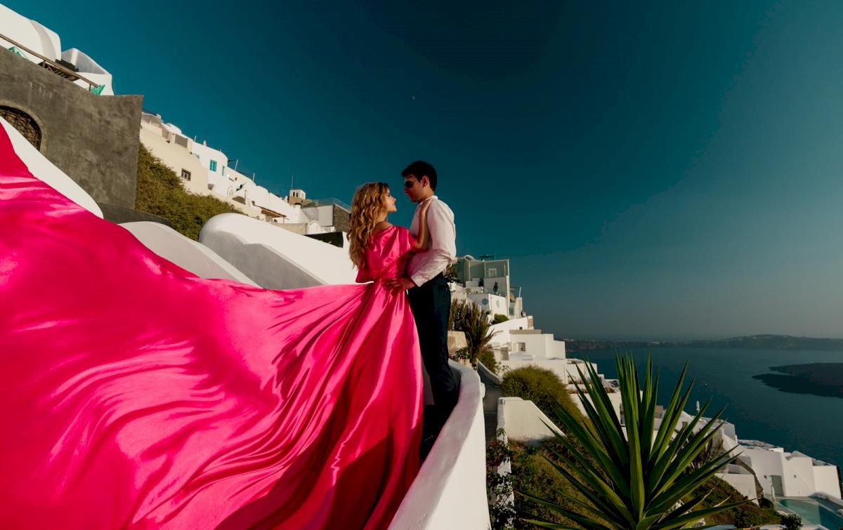 Барбара: свадьба на санторини, свадебное агентство Julia Veselova - Фото 1