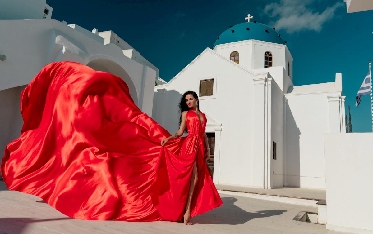 Линда: свадьба на санторини, свадебное агентство Julia Veselova - Фото 2