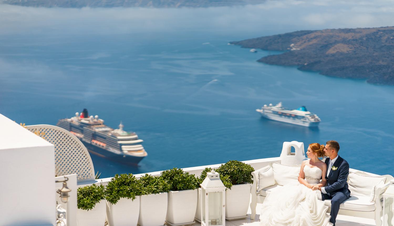 Наталья и Александр: свадьба на санторини, свадебное агентство Julia Veselova - Фото 15