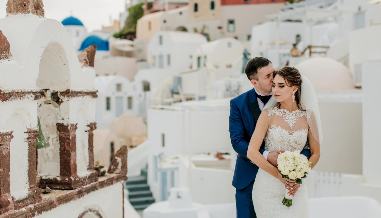 Юлия и Максим: свадьба на санторини, свадебное агентство Julia Veselova - Фото 13