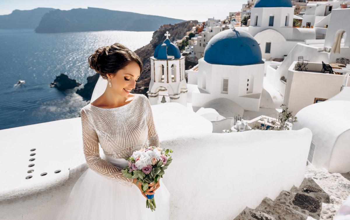 Анастасия и Иван: свадьба на санторини, свадебное агентство Julia Veselova - Фото 7