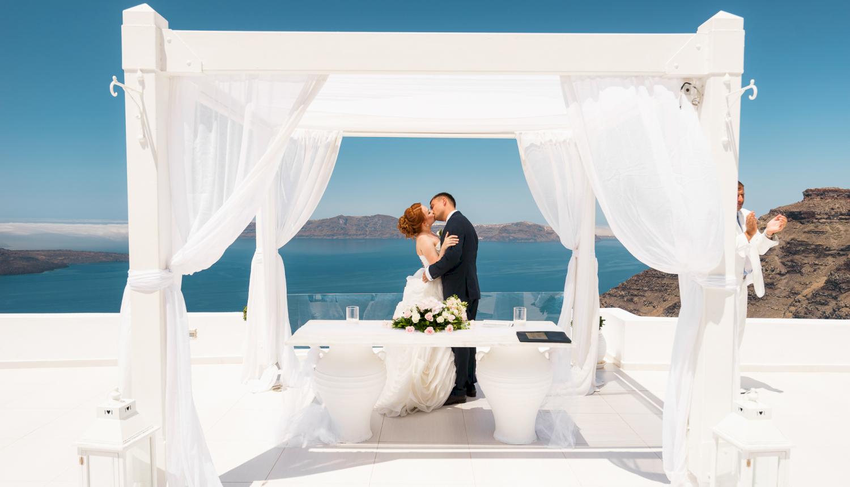Наталья и Александр: свадьба на санторини, свадебное агентство Julia Veselova - Фото 6
