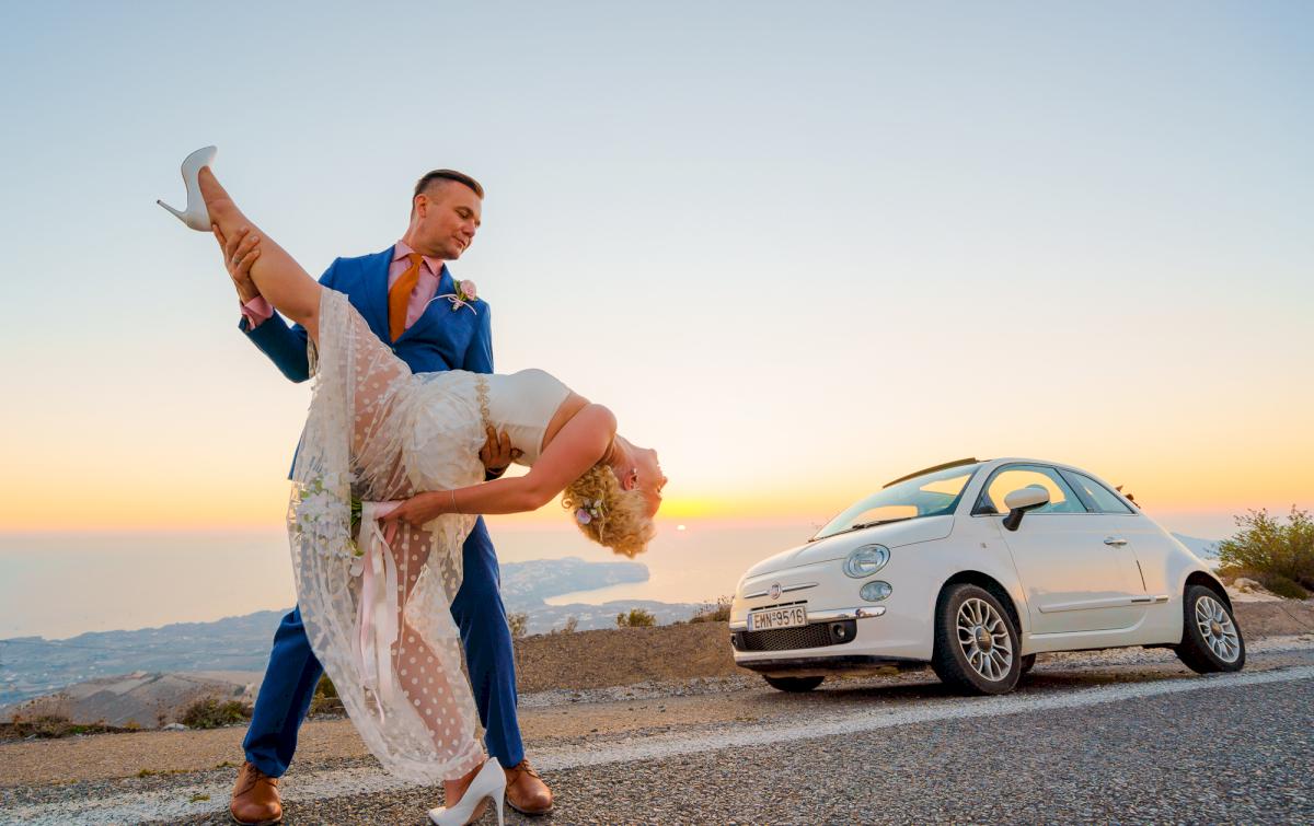 Екатерина и Андрей: свадьба на санторини, свадебное агентство Julia Veselova - Фото 9