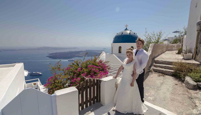 Дарья и Яков: свадьба на санторини, свадебное агентство Julia Veselova - Фото 9