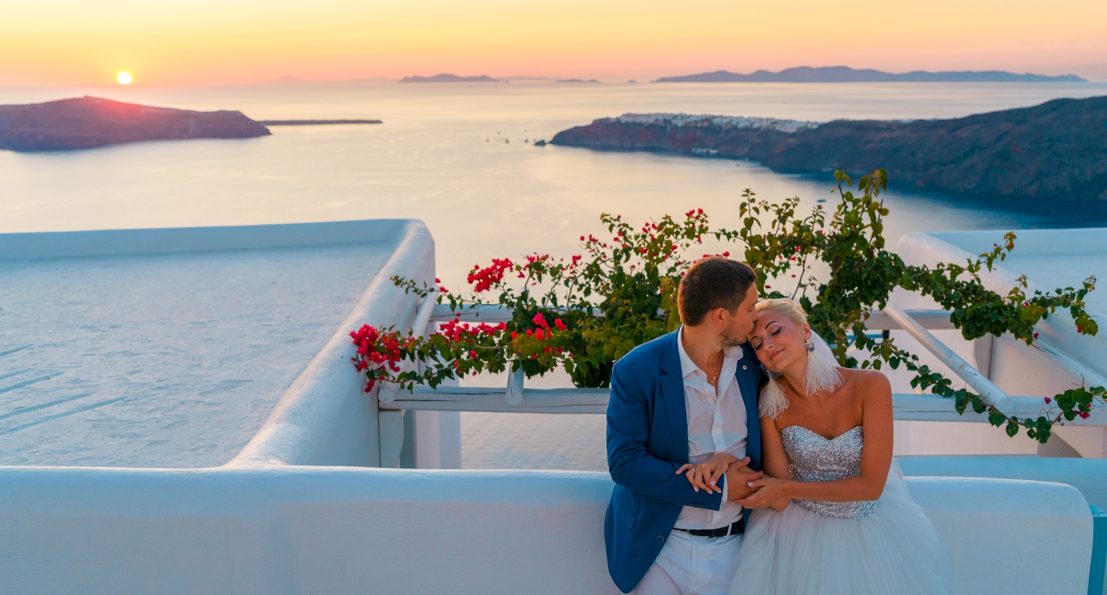 Екатерина и Дмитрий: свадьба на санторини, свадебное агентство Julia Veselova - Фото 8