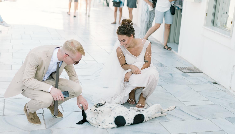 Алеся и Максим: свадьба на санторини, свадебное агентство Julia Veselova - Фото 5