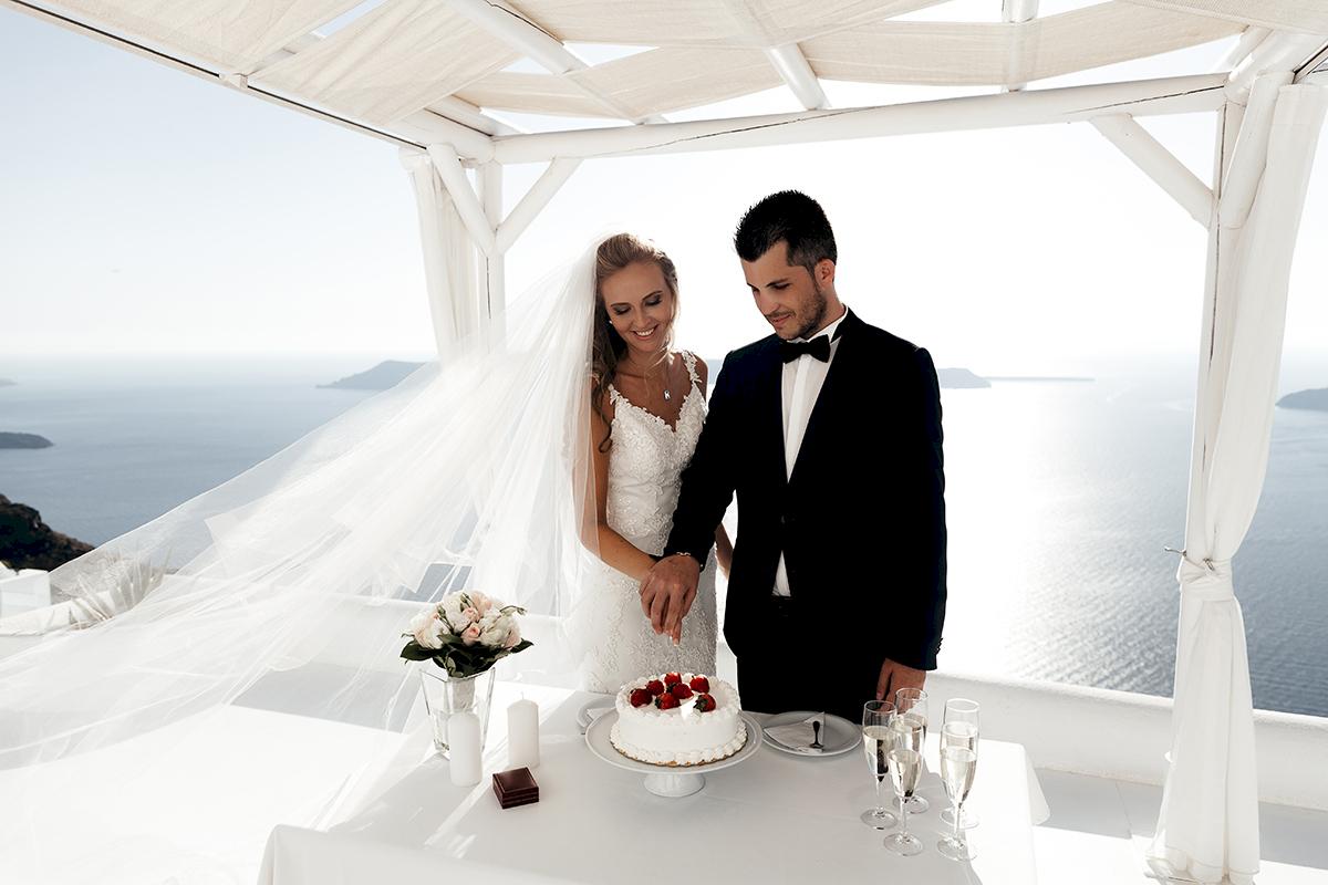 Жанна и Адриан: свадьба на санторини, свадебное агентство Julia Veselova - Фото 9