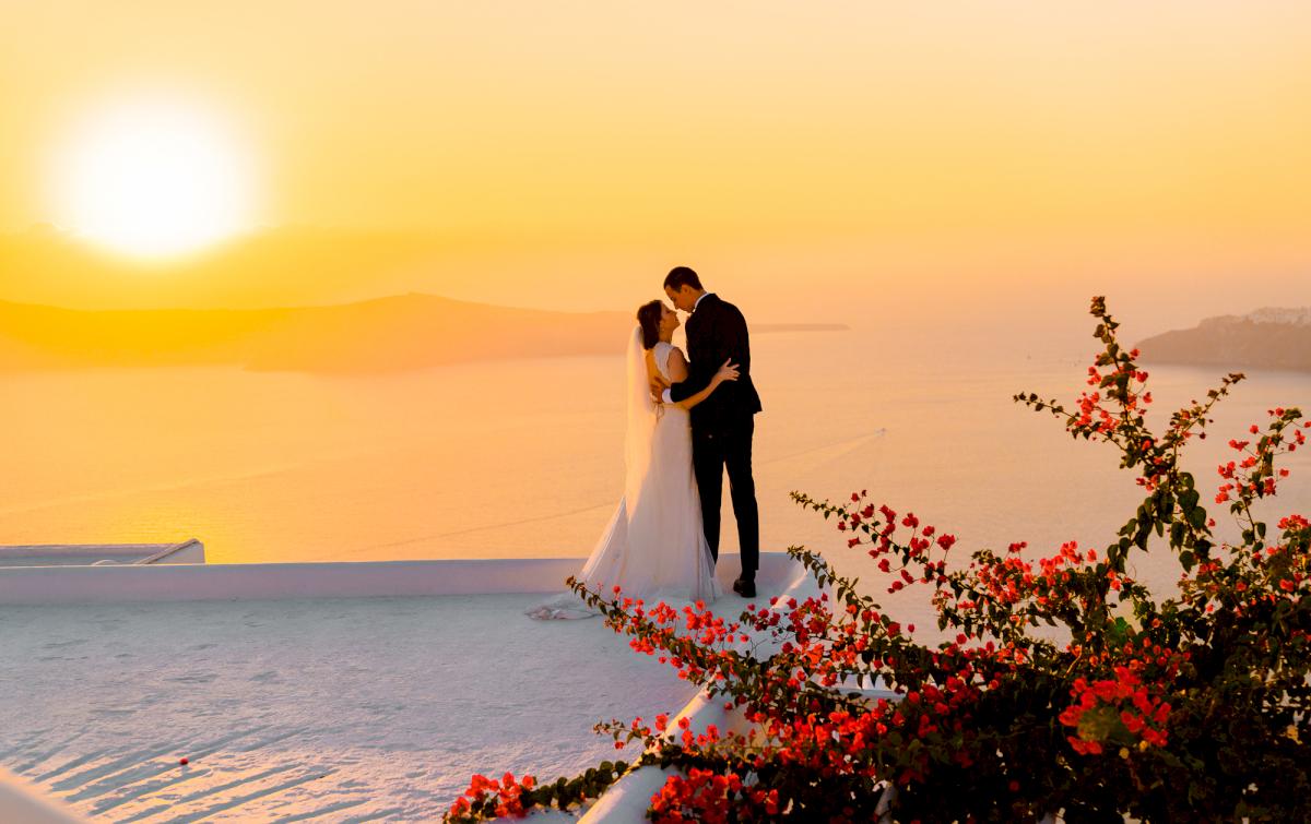 Виолетта и Александр: свадьба на санторини, свадебное агентство Julia Veselova - Фото 8