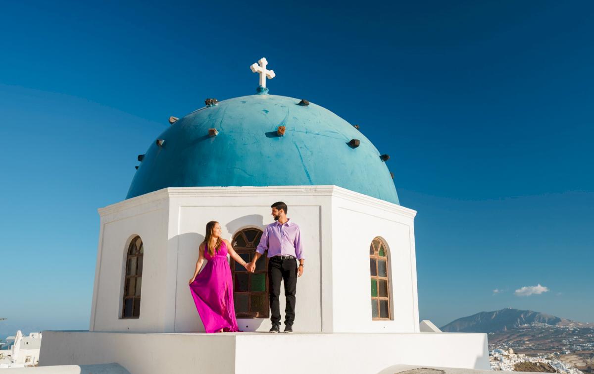 Levy Shady: свадьба на санторини, свадебное агентство Julia Veselova - Фото 9