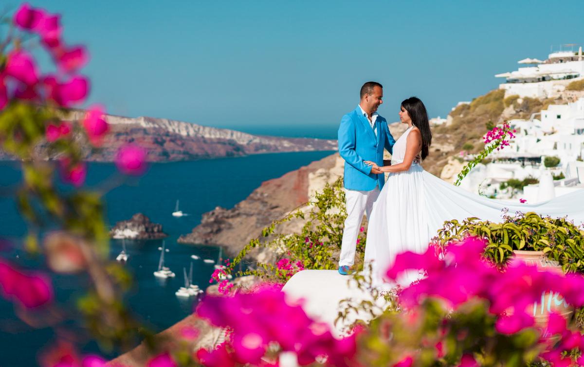 Иветта: свадьба на санторини, свадебное агентство Julia Veselova - Фото 17