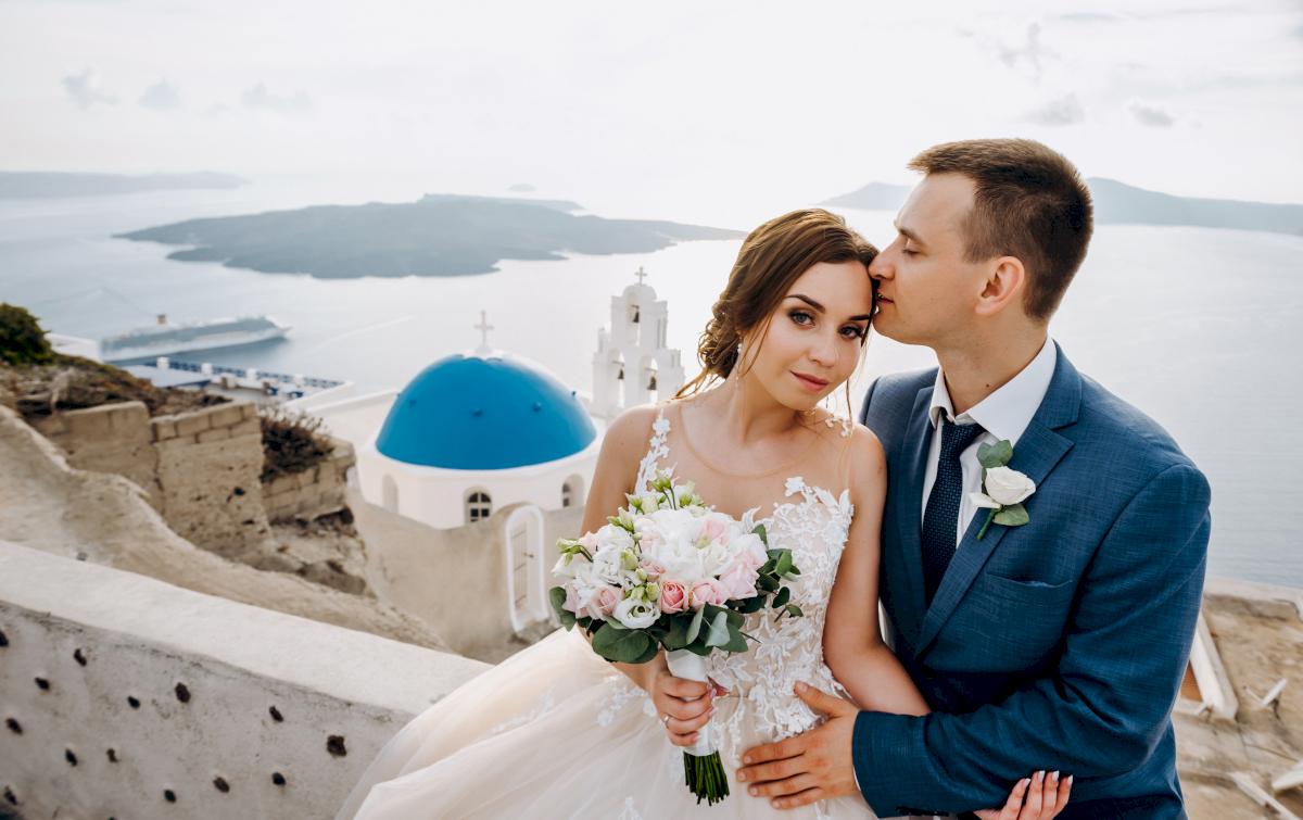 Юлия и Ярослав: свадьба на санторини, свадебное агентство Julia Veselova - Фото 6