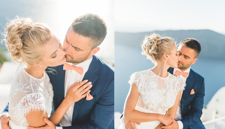 Ольга и Алексей: свадьба на санторини, свадебное агентство Julia Veselova - Фото 8