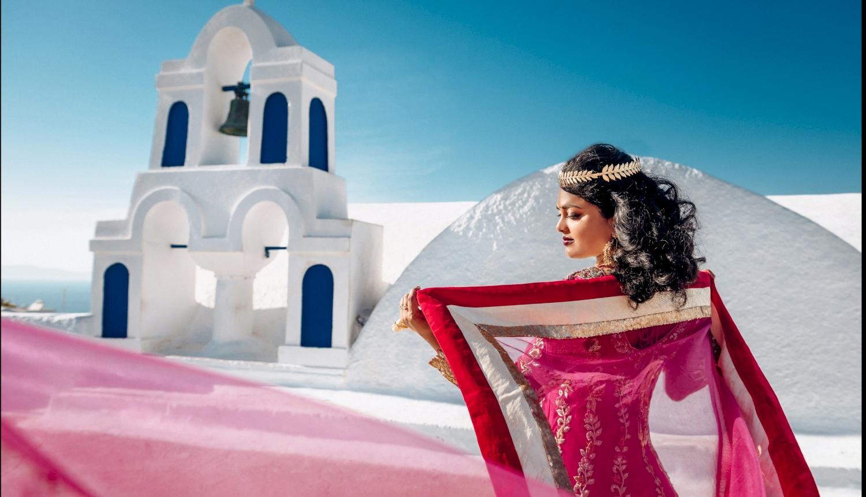 Deni and Kanshu: свадьба на санторини, свадебное агентство Julia Veselova - Фото 5