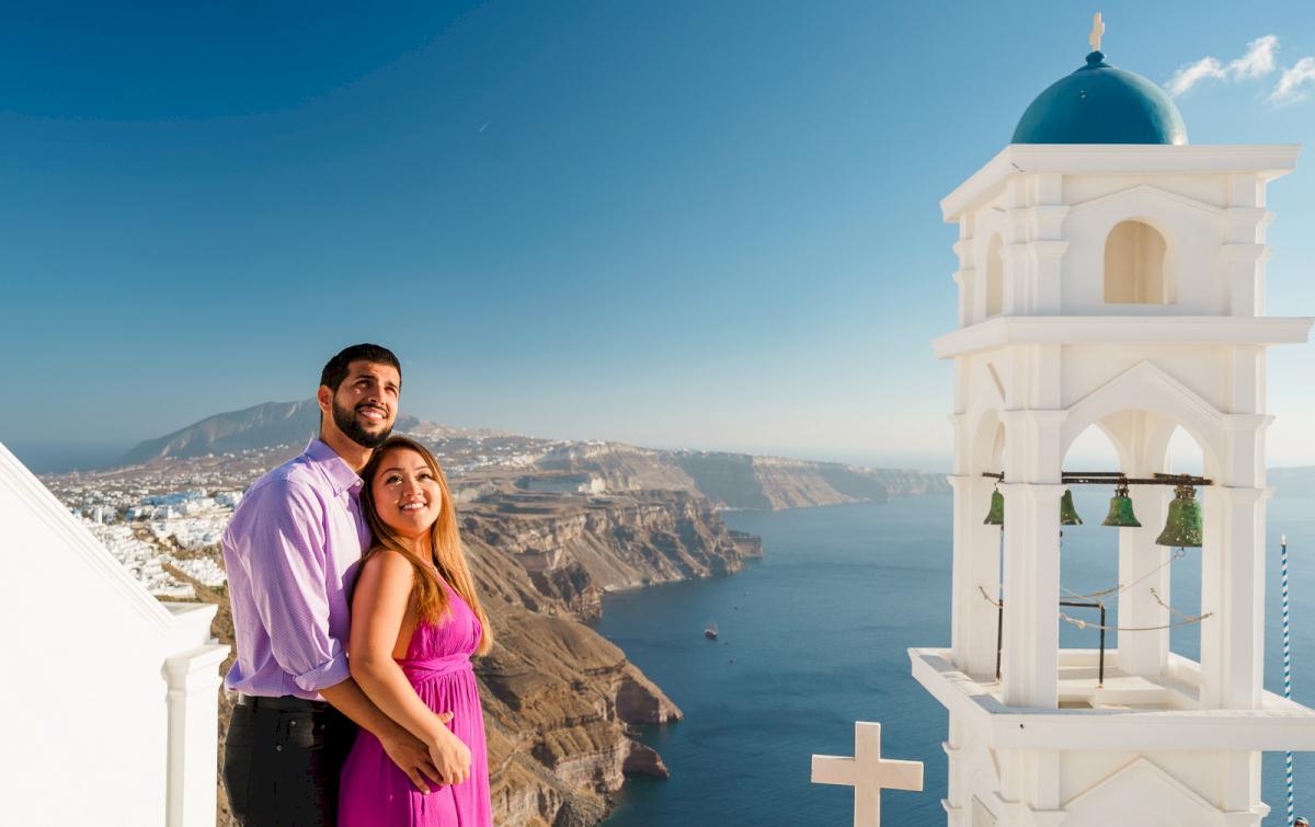 Levy Shady: свадьба на санторини, свадебное агентство Julia Veselova - Фото 10
