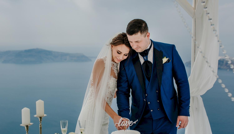 Юлия и Максим: свадьба на санторини, свадебное агентство Julia Veselova - Фото 8